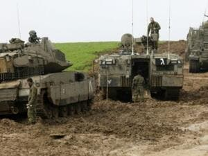 Israeli tanks shelled have destroyed Hezbollah positions in southern Syria. (AFP/ File Photo)