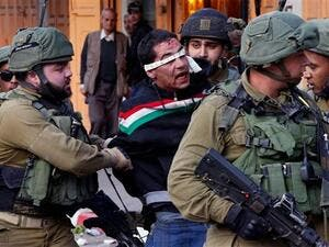 Israeli soldiers recently detained 20 Palestinians from the occupied West Bank. (AFP/ File Photo)