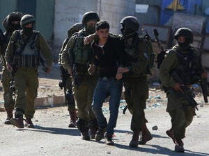 The Israeli army arrested over 15 Hamas members in overnight raid in the West Bank. (AFP/ File Photo)