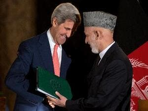 Karzai was one of the key supporters of the U.S. campaign against the Taliban in Afghanistan. (AFP / File)