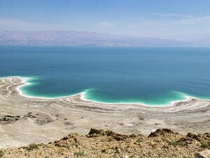 Eventually, up to 2 billion cubic metres of seawater will be transferred from the Red Sea to the Dead Sea annually under the Red-Dead project. (Shutterstock)