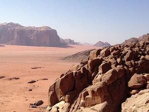 Wadi Rum, movie star. (Wikimedia Commons)