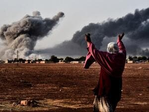 The key capture of the embattled Syrian city of Kobane by Kurdish forces has instilled more confidence in ground troops' ability to regain control in Daesh-held areas, but US-led airstrikes are still considered to be largely ineffective against the military group. (AFP/File)
