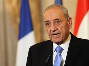 Lebanese Parliamentary Speaker Nabih Berri urges war of words between the Future Movement and Hizbollah to stay within the realm of electoral politics. (AFP/ File Photo)