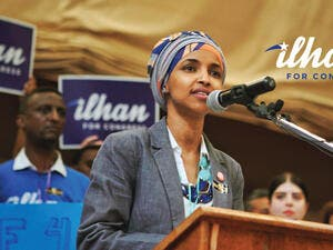 Ilhan Omar, the first Somali-American Muslim legislator elected to office in the US as a representative of Minnesota state and a candidate for Congress. (Facebook/Ilham Omar for Congress)