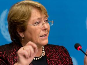 Michelle Bachelet United Nations' human rights chief (Twitter)