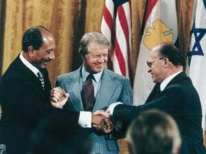 17th September 1978: Egypt & Israel sign Camp David Accords (Twitter)