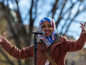 Omar, who is expected to swear into office in January 2019, is facing a 181-year-old law-imposed in 1837, that bans hats or any headwear in the House Chamber of the Capitol. (Photo Credit: Twitter/@IlhanMN)