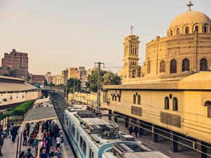 Subway station, Egypt (Shutterstock/File Photo)