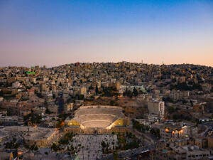 Amman Roman Theater (Shutterstock/File Photo)