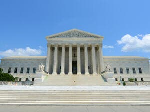 United States Supreme Court Building in Washington (Shutterstock/File Photo)