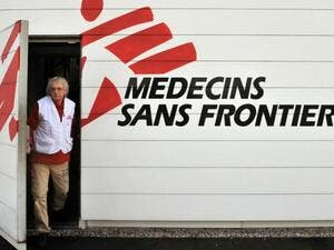 MSF will no longer accept funding from the EU or EU countries. (AFP/File)