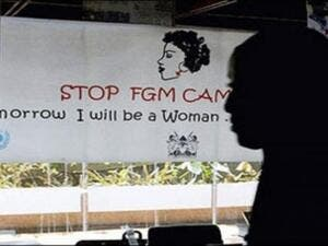 Between 100 million and 140 million females across the world are thought to be living with the consequences of FGM. (AFP/ File)