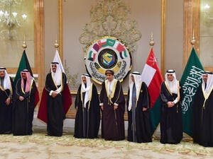 The Gulf Cooperation Council (GCC) at the Bayan Palace in Kuwait City on December 5, 2017. (AFP/ File Photo )