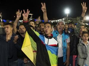 Al-Hoceima has witnessed a number of similar protests break out since the death of the fishmonger, Mohsen Fikri in October. (AFP/File)