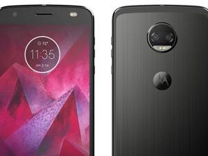 Moto Z2 Force leaked images give first look at upcoming flagship.