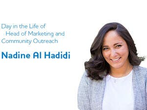 Nadine graduated with a Business Administration degree with a Human Resources minor. (Bayt)