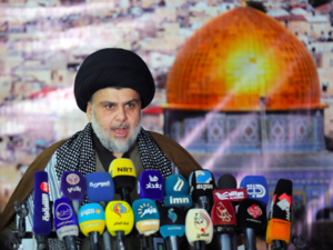 Shia leader Muqtada al-Sadr early campaigning on Najaf waits to reap fruits of parliamentary elections (AFP)