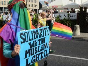In Muslim circles, LGBT people constantly need to explain to family members skeptical about Western ideals that their gender or sexual identity will not compromise their cultural values, he said. (AFP/Janek Skarzynski)