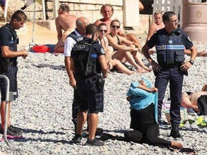 There have been ten women fined so far this summer as part of the enforcement of the new French law. (Courtesy photo)