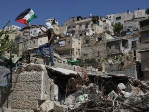 The East Jerusalem neighborhood of Silwan is already a place of heightened tension. (AFP/File)