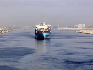 Once completed, the new Suez Canal for Iron and Steel plant will boast a production capacity of about 1.2 million tonnes of steel per annum. (AFP/File)