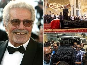 The Doctor Zhivago star was laid to rest on Sunday in a packed-out Egyptian funeral. (Mirror.co.uk)