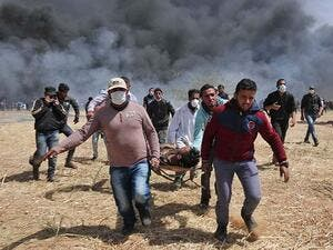 At least 9 Palestinians injured by Israeli fire near Ramallah. (AFP/ File)