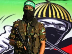 Fighters of the armed wing of the Palestinian Islamic Resistance Movement, Hamas (AFP/ File Photo)