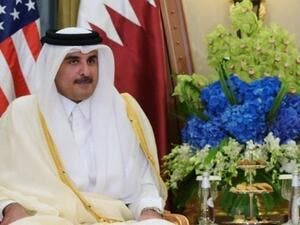 Qatari Emir Sheikh Tamim bin Hamad had met Timothy Lenderking, U.S. deputy assistant secretary of state for Gulf affairs, and retired U.S. Marine Corps General Anthony Zinni. (AFP/ File Photo)
