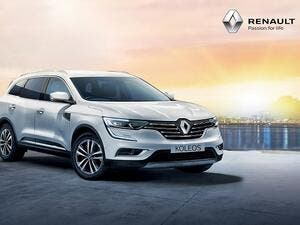 Renault Koleos captures everyone's attention with an athletic profile, robust front end, roomy seats, taut lines underscored with chrome, and C-Shape LED Daytime Running Lights.