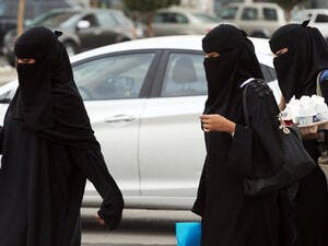 The number of Saudi women joining the workforce is rising. (AFP/ File)