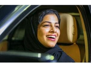 Scores of women drivers drove along busy Tahlia thoroughfare and other streets in the capital Riyadh. (Khaleej Times)