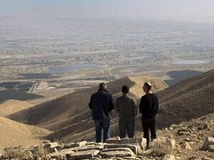View over Palestine's occupied Jordan Valley (AFP/File Photo)