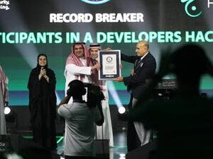 Hajj Hackathon entered the Guinness World Records for attracting the largest number of developers in world. (Twitter)