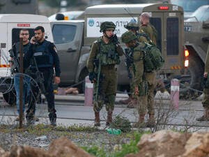 Israeli forces in West Bank (AFP/ File)