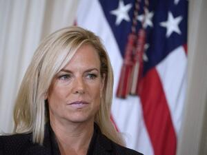 Kirstjen Nielsen, White House deputy chief of staff, is the Secretary of the Department of Homeland Security (AFP/ Mandel NGAN)