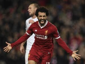 Salah took his tally to 19 goals in 24 appearances with Liverpool since his summer arrival from AS Roma.