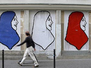 """Wearing the full veil not only makes it difficult to identify a person, it makes her indistinguishable from other full veil wearers and effectively erases the woman who wears it,"" said French government lawyer Edwige Belliard."