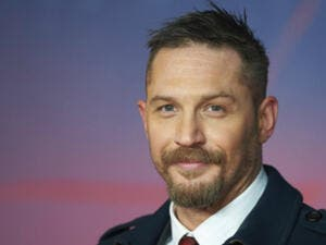 Hardy stars in 'Venom' as reporter Eddie Brock (Source: NIKLAS HALLE'N - AFP)