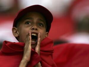 Tunisian boy shouts (image used for illustrative purposes)