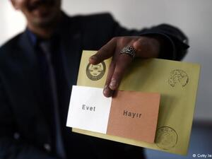 Turks living outside in German, Austria and France started casting their votes for the coming presidential and general elections on June 24. (AFP/ File)
