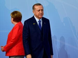 The latest spat between Ankara and Berlin risks propelling a months-long crisis in ties between the two NATO allies to a new level ahead of Germany's Sept. 24 general election (Tobias Schwarz/AFP)