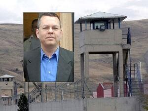 The minister, Andrew Brunson, was detained in October 2016 and accused of spying and participating in a failed military coup against the Turkish government. (AFP/ File)