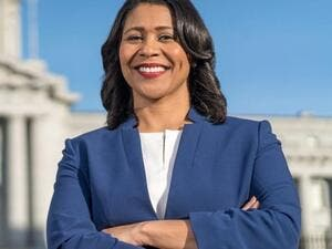 London Breed was elected as U.S.'s first black woman mayor in San Francisco State. (Twitter)