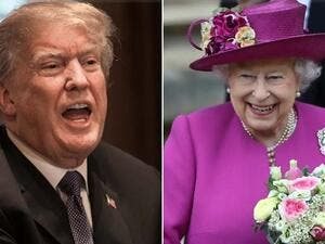 US Ambassador has confirmed Donald Trump will meet the Queen Elizabeth during his visit to Britain. (AFP/ File)