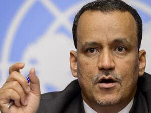 The United Nations special envoy for Yemen, Ismail Ould Cheikh Ahmed (AFP)