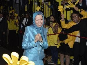 MEK leader Maryam Rajavi (AFP/FILE)
