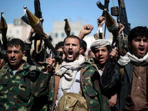 Houthi militia up-in-arms (AFP/File Photo)