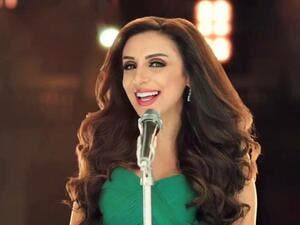Egyptian singer Angham was arrested by Kuwaiti police for breaching a legal contract with her Kuwaiti ex-husband. (Facebook)